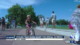 Journey Of Hope cycling team raises money for Special Olympics - Video
