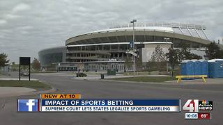 Kansas prepares for legal sports betting - Video