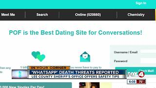 SWFL man gets death threats through dating site - Video