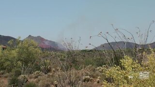 East Desert Fire forces evacuations in Cave Creek