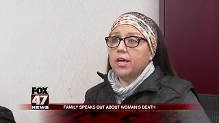 Family speaks on woman's death
