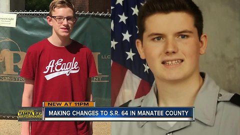 Improvements made to State Road 64 after two teens killed in Manatee County