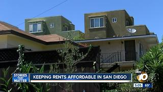 Keeping rents affordable in San Diego - Video