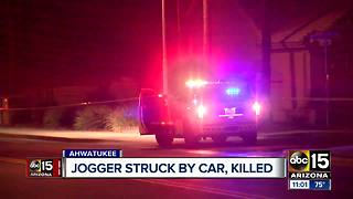 Jogger killed while running on Ahwatukee sidewalk - Video