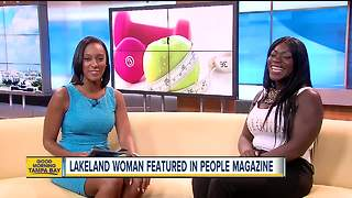Lakeland woman shares weight loss journey with People magazine readers - Video