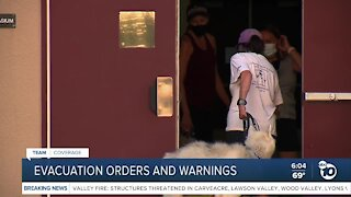 Residents forced to evacuate due to Valley Fire
