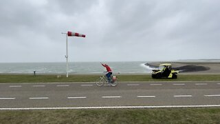 Storm Ciara creates brutal conditions for Dutch Headwind Cycling Championship
