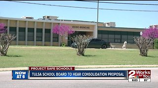 tulsa school board to hear consolidation proposal