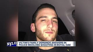 Police identify man killed in Royal Oak officer-involved shooting - Video