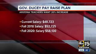 Arizona Governor proposes twenty percent salary raise for teachers - Video