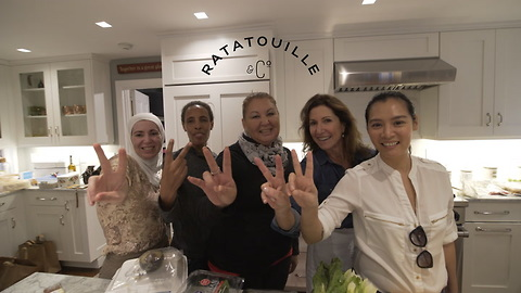This Women-Run Gourmet Catering Company Trains Refugee Women in Cooking and Service