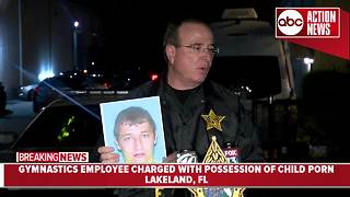 Press Conference: Lakeland gymnastics coach arrested for child porn - Video