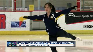 Local figure skaters draw inspiration from Olympians - Video