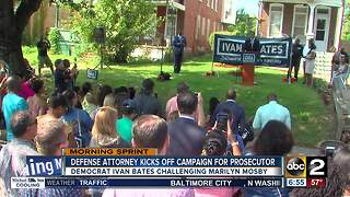 Local defense attorney kicks off campaign for top prosecutor - Video