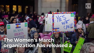 Women's March Distributes Toolkits - Video