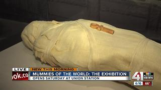 Mummies of the World: The Exhibition comes to Union Station - Video