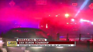 Freeway shooting investigation on eastbound I-94