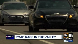 Road rage in the Valley