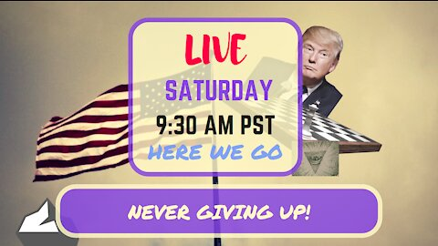 Saturday Morning LIVE! Never Giving Up! Edition