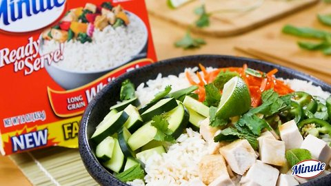 Minute® Chicken Banh Mi Style Rice Bowl