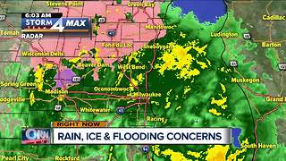 Some southeast Wisconsin schools starting late due to weather - Video