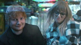 Taylor Swift Knocks Back Shots with Ed Sheeran in 'End Game' Music Video...But WHERE Was Katy Perry?