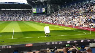 West Bromwich Debut New Combi Boiler Mascot - Video