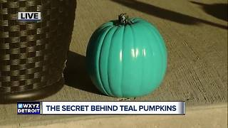 The secret behind teal pumpkins