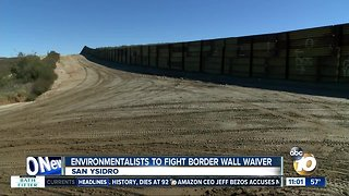 Environmentalists battle government waiver that speeds up border fence repairs