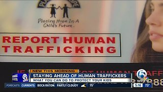 Human traffickers preying on Florida children