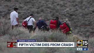 Fifth victim dies from Grand Canyon helicopter crash - Video
