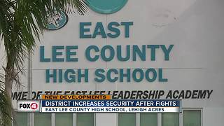 School district increases security after fights