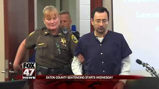 Nassar in Eaton County court for hearing Wednesday