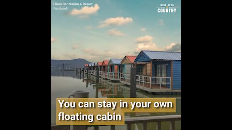 Stay Overnight in a Floating Cabin at This Tennessee Resort