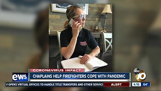 Chaplains help firefighters cope with pandemic