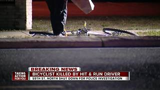 Pinellas Park police search for driver after bicyclist killed in hit-and-run - Video