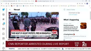 CNN Reporter Omar Jimenez arrested on air