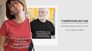 T-Shirts Mockup Video by Jesus T-Shirts Video #3