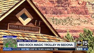 Deal of the Day: 50% off Red Rock Magic Trolley tours in Sedona - Video