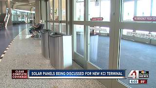 City considering solar panels for new KCI - Video