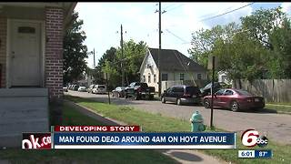One person dead after bizare series of events on Indianapolis' southeast side - Video