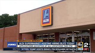 Aldi hiring blitz: Expansions bring 300 more jobs - Video