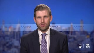 Eric Trump says Florida polls don't worry him