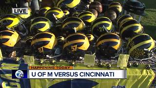 UM Vs Cincinnati - Video