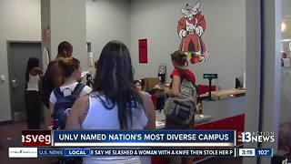 UNLV named nation's most diverse campus - Video