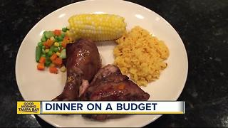 Dinner on a budget: Savory jerk chicken & corn-on-the-cob to feed your family for days for under $20 - Video