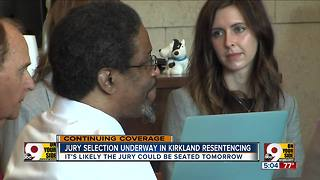 Jury selection underway in Kirkland resentencing - Video