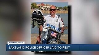Lakeland police officer killed in motorcycle crash to be laid to rest Wednesday