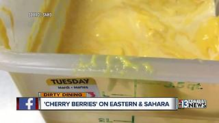 Dirty Dining visits Cherry Berries because of cheese - Video