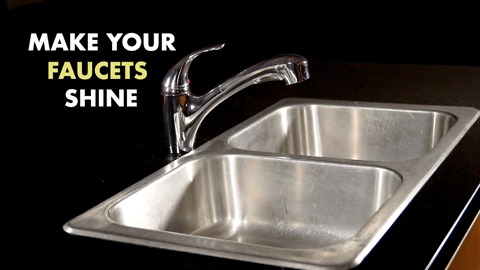 Make your faucets shine